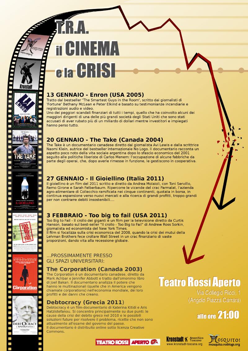 T.R.A. il Cinema e la Crisi
