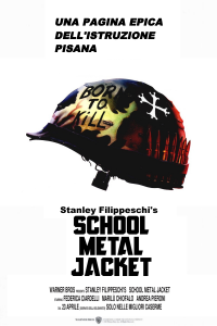 School Metal Jacket